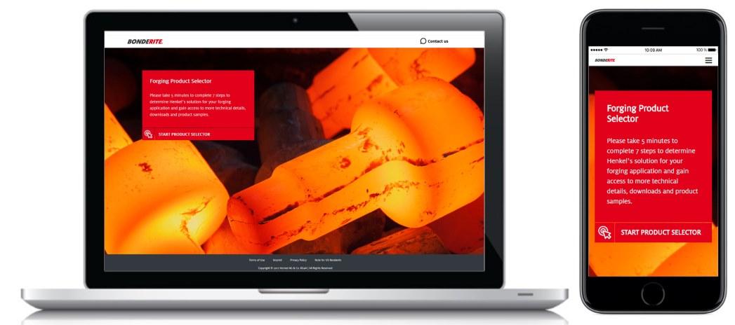 Referenz Digital Product Selcetor Henkel