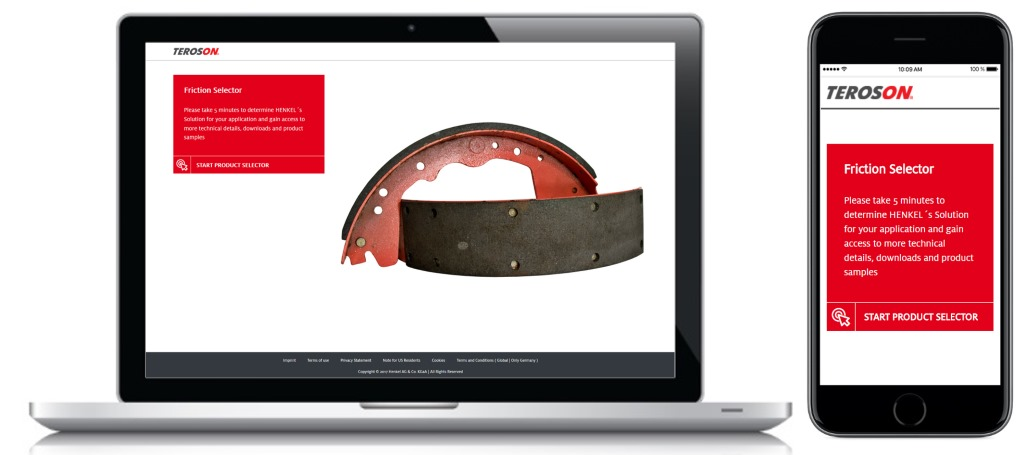 Product Selector Henkel AT Friction