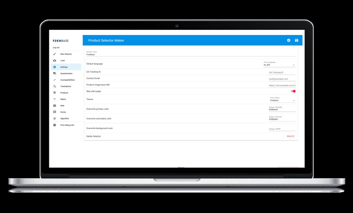 Setup und Integration, z.B. in ihr CMS oder Webshop