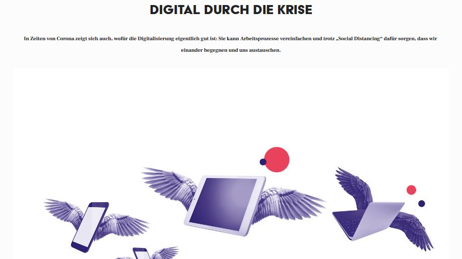 Digital durch die Krise
