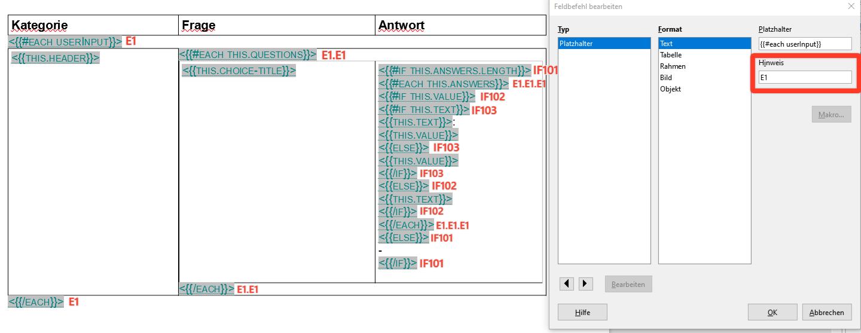 Beispiel: Erstellung eines PDF-Anhangs