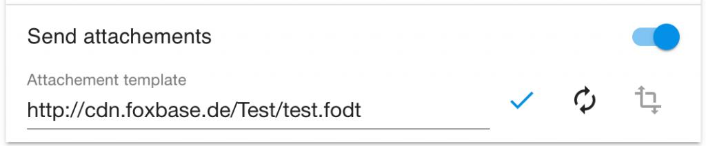 PDF-Anhang bei Leadaussteuerung über E-Mail - send attachements