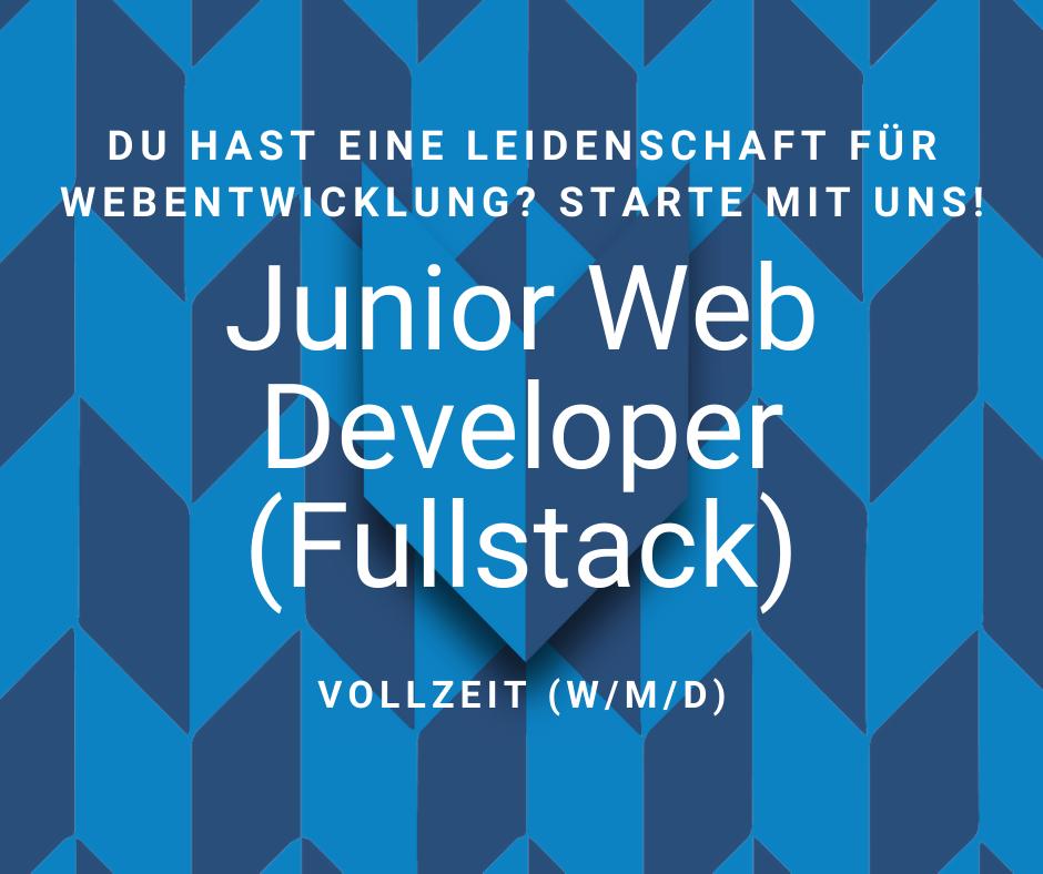 Junior Fullstack Web Developer